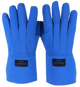 Cryogenic protective gloves