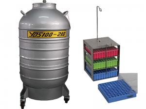 Large caliber storage YDS/ liquid nitrogen container
